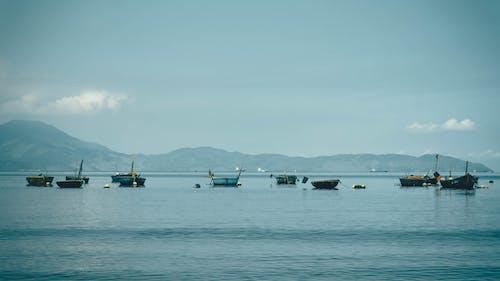 Бесплатное стоковое фото с берег моря, лодки, морской берег