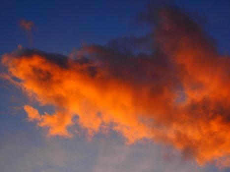 Free stock photo of light, sky, sunset, red