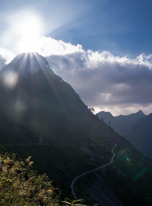 Fotobanka sbezplatnými fotkami na tému cesta, krása v prírode, ľahký, modré hory