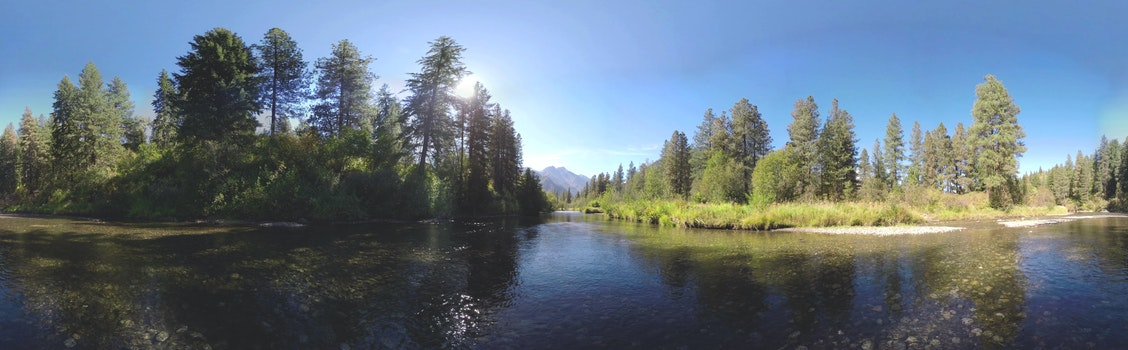 Free stock photo of mountain, river, outdoors, panorama