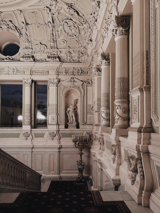 Artistic Design Of Interior Of A Building
