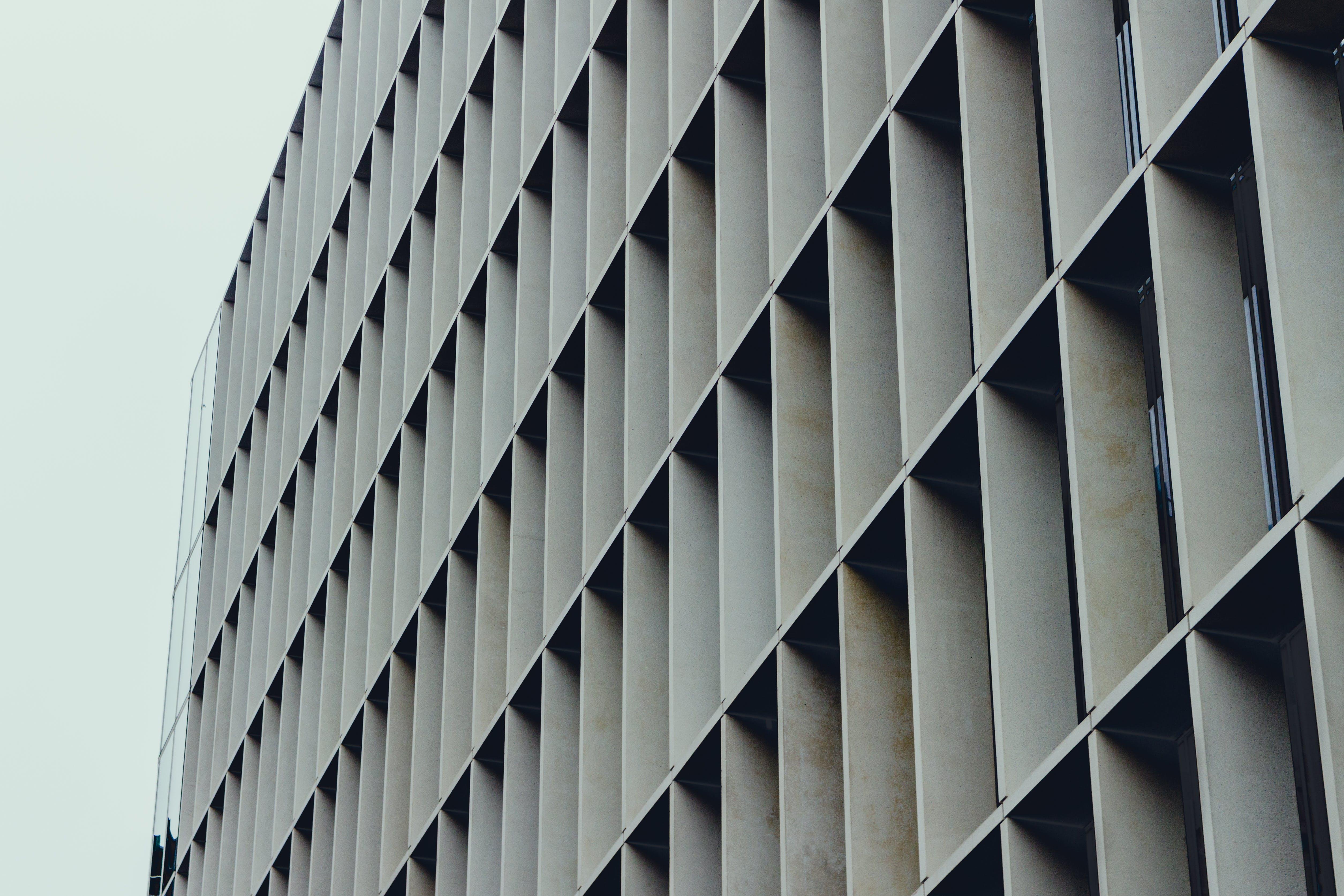 Gray Concrete Shelf