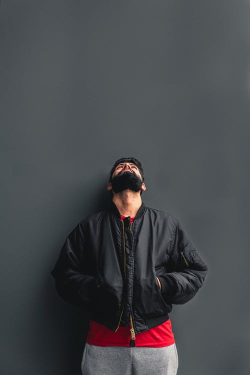 Photo of Man Wearing Black Jacket