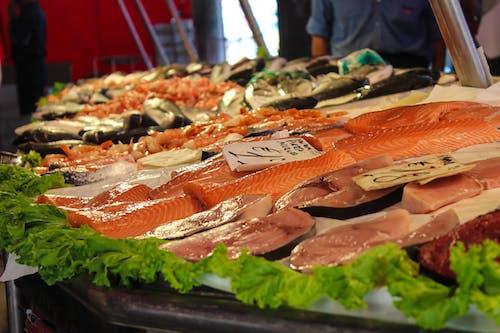 Immagine gratuita di carne, crudo, fresco, frutti di mare
