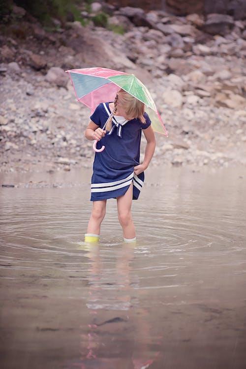 Immagine gratuita di acqua, bach, bambino, natura