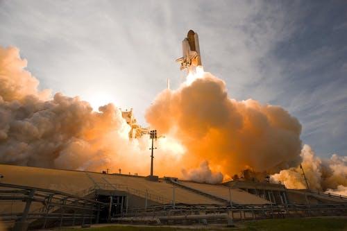 Základová fotografie zdarma na téma kosmická loď, letectví a kosmonautika, nasa, ocelová a betonová stavba