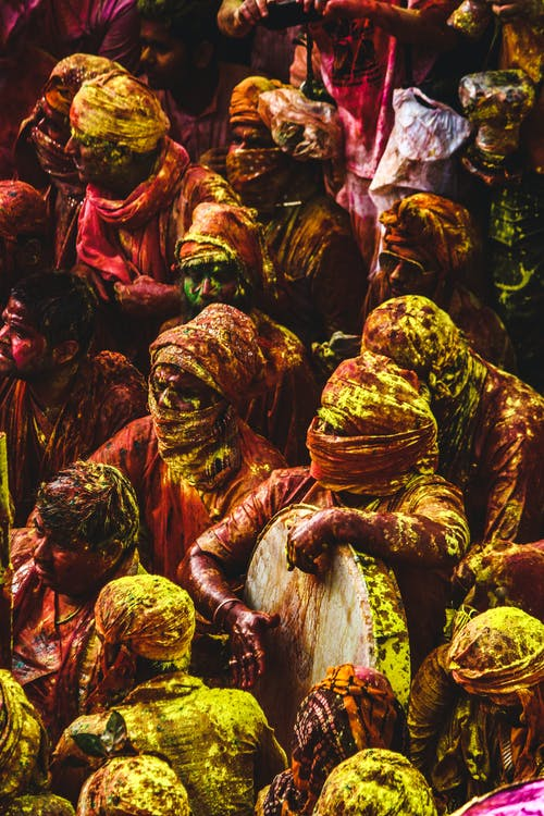 Fotobanka sbezplatnými fotkami na tému biharský festival, ceremónia, dav ľudí, denné svetlo