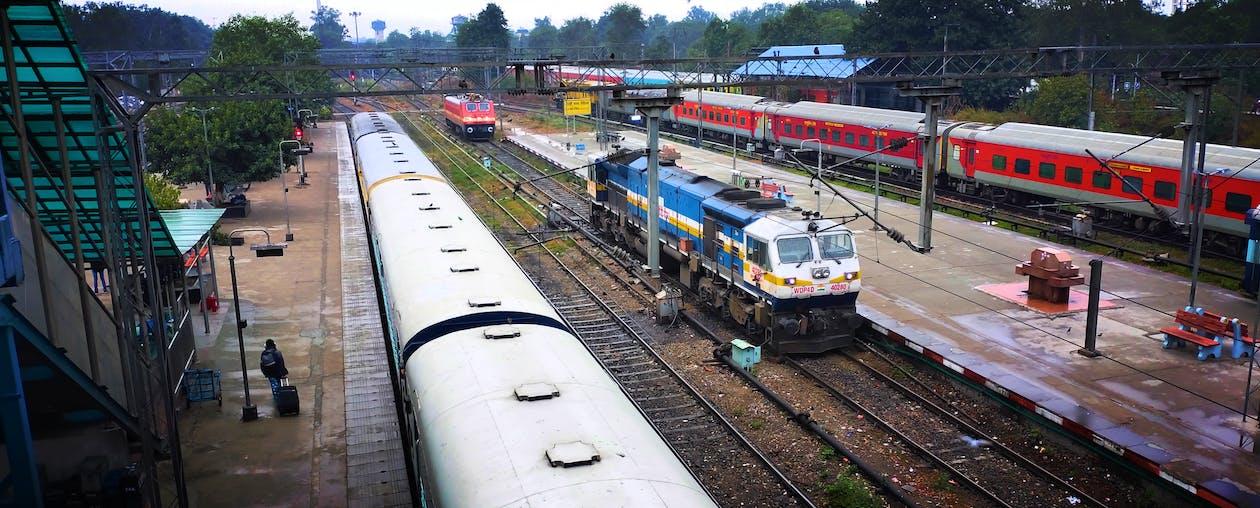Free stock photo of colors in india, indian railways, locomotive