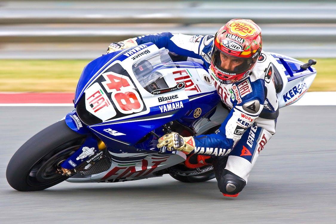 Man Riding Sportbike