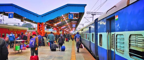 Free stock photo of colors in india, railways, trains
