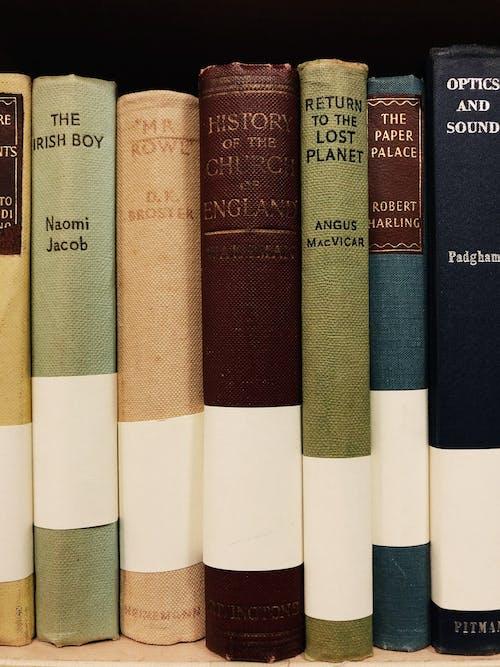 Kostenloses Stock Foto zu alte bücher, ausbildung, bibliothek, bucheinbände