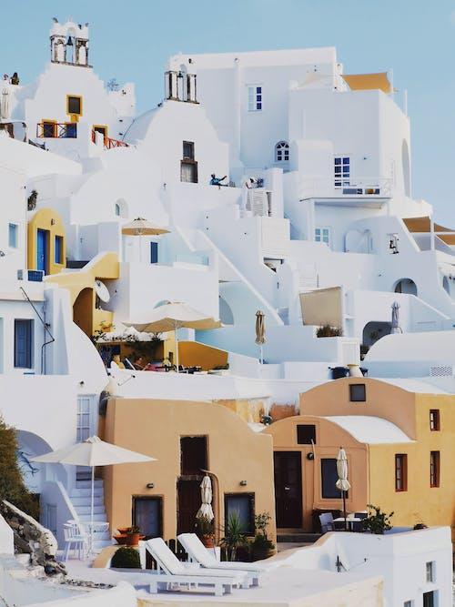 Fotos de stock gratuitas de casas, colores, diseño, diseño arquitectónico