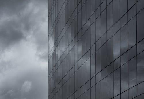 Gratis arkivbilde med buiding, høyblokker, monokrom, perspektiv