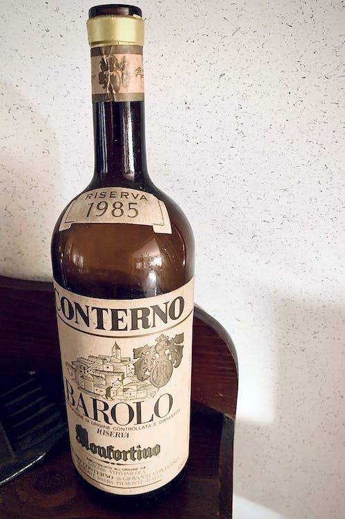 Gratis arkivbilde med barolo, bottiglia, flaske, retro