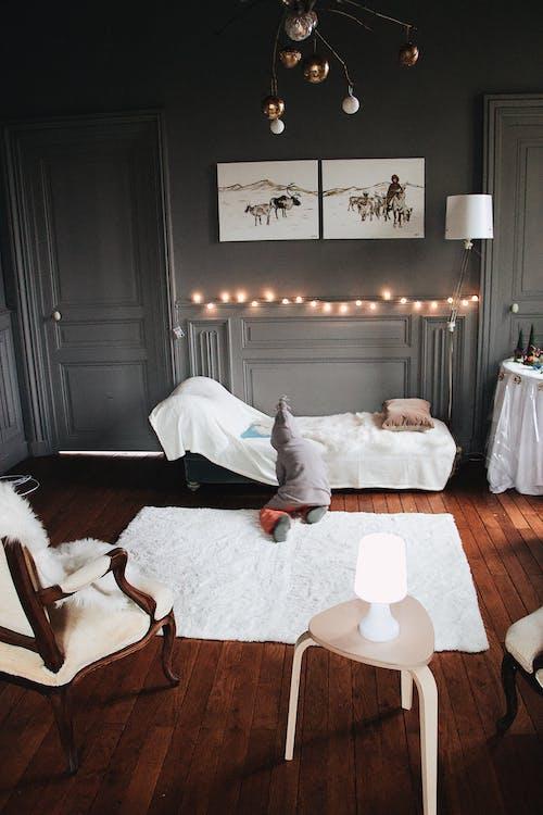 兒童, 地毯, 室內, 室內設計 的 免费素材图片