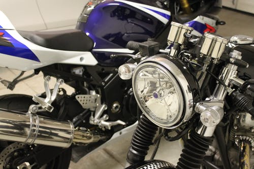 Free stock photo of headlight, motorcycle, super bike