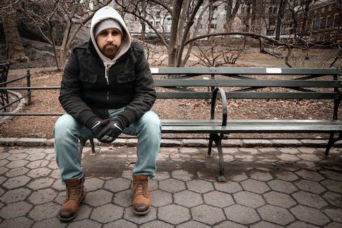 Ảnh lưu trữ miễn phí về áo hoodie, Áo khoác, áo lạnh, Băng ghế