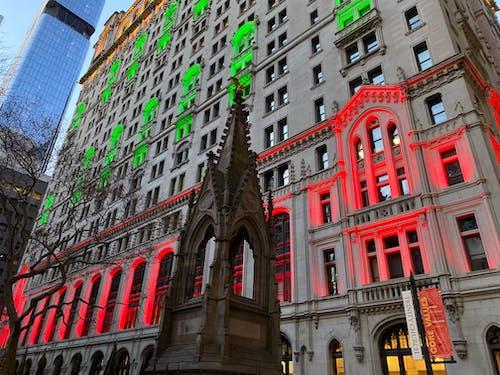 Kostenloses Stock Foto zu new york, weihnachtsstimmung