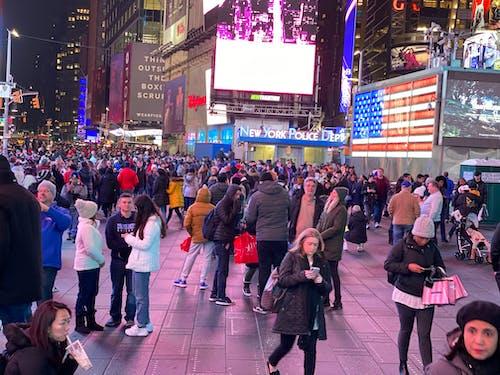 Photos gratuites de new york, times square