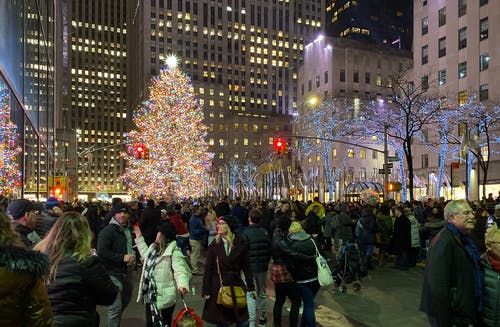 Photos gratuites de arbre de noël, new york city, noël, sapin de noël