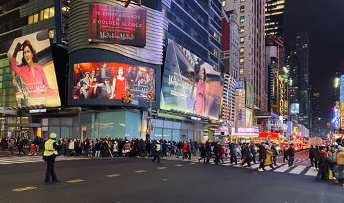 Photos gratuites de foule, new york city, public