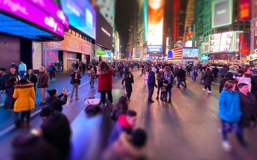 Kostenloses Stock Foto zu new york, times square