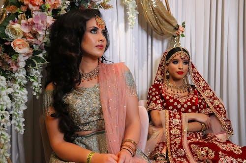 Immagine gratuita di abiti, matrimonio indiano, ragazze asiatiche