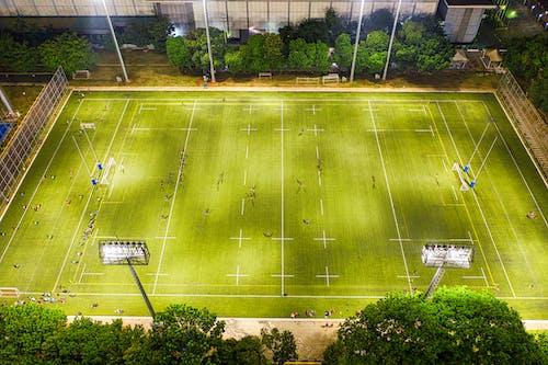 คลังภาพถ่ายฟรี ของ การจับคู่, กีฬา, จากข้างบน, ทางอากาศ