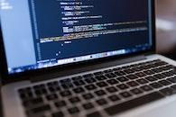 macbook pro, computer, coding