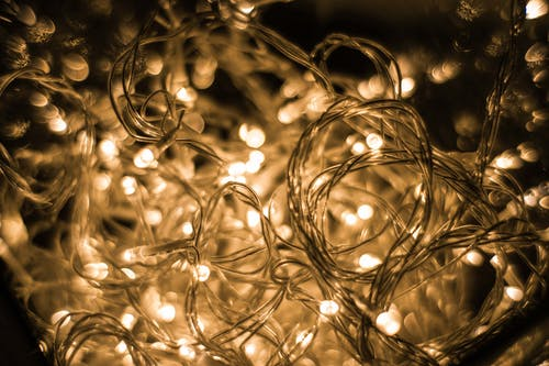 Turned-on String Lights
