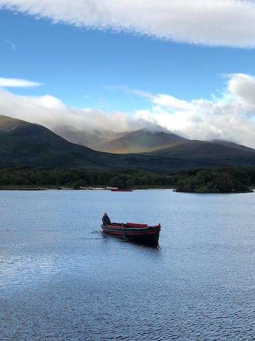 Free stock photo of boat, ireland, lake vacation