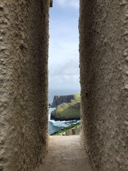 Free stock photo of Cliffs of Moher, ireland, window