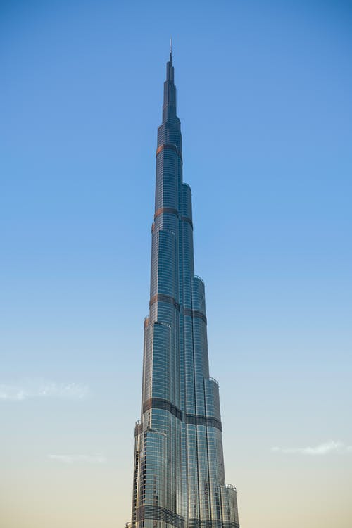 Foto d'estoc gratuïta de alt, articles de vidre, burj khalifa, cel