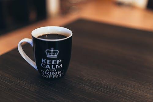 Безкоштовне стокове фото на тему «зберігайте спокій, Кава, кофеїн, кружка»