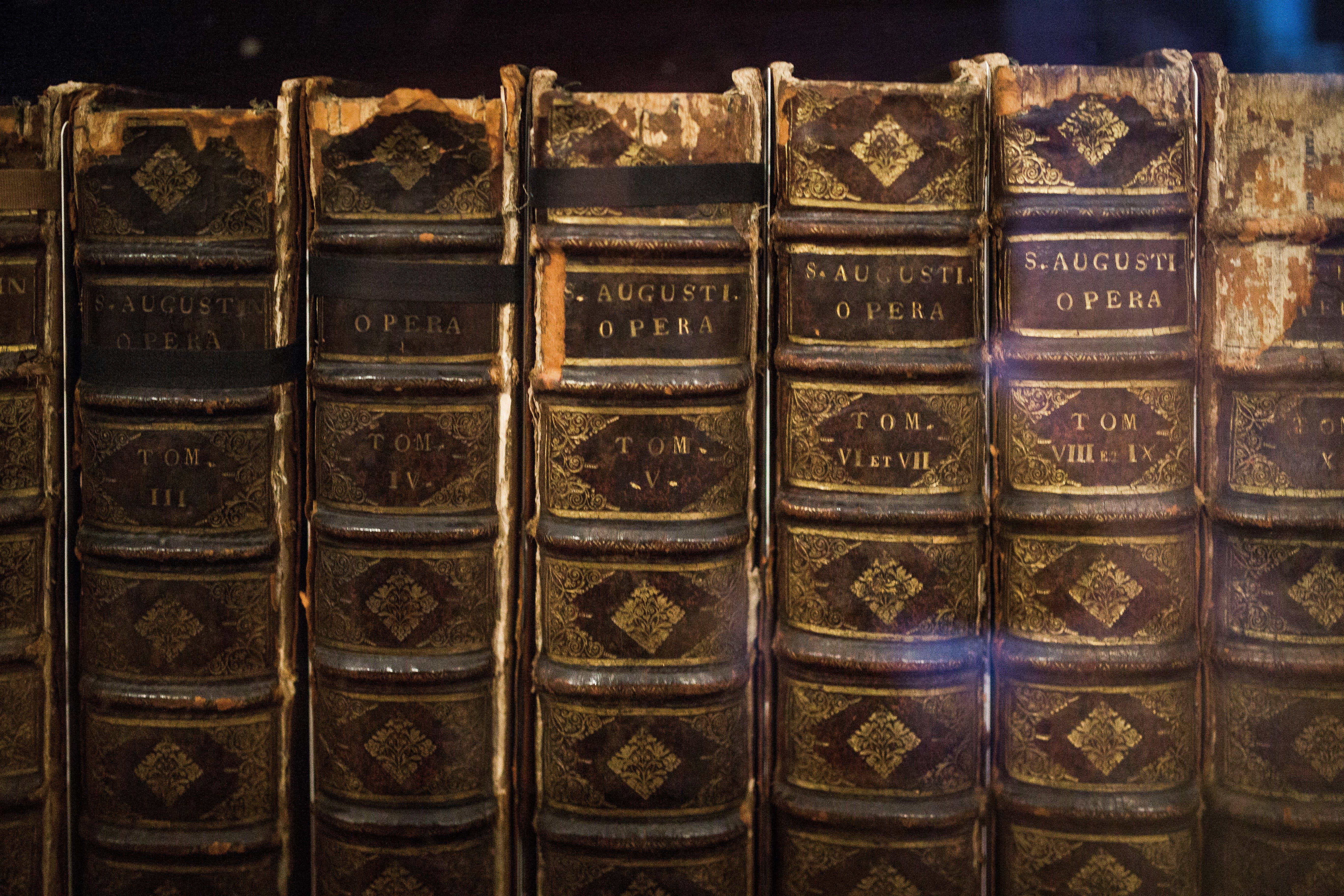 books, bookstore, old