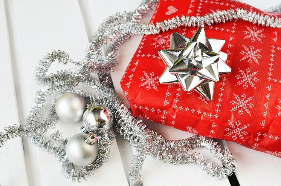 christmas, gift, present