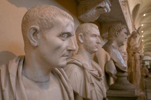 Free stock photo of head, italy, marble, rome