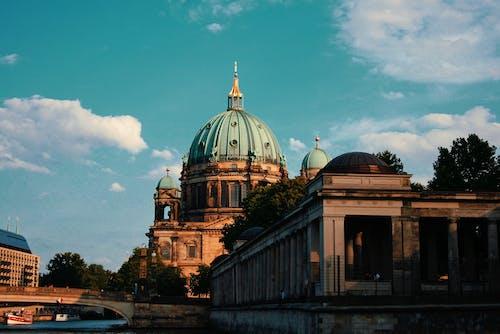 Almanya, Berlin, berlin katedrali, bina içeren Ücretsiz stok fotoğraf