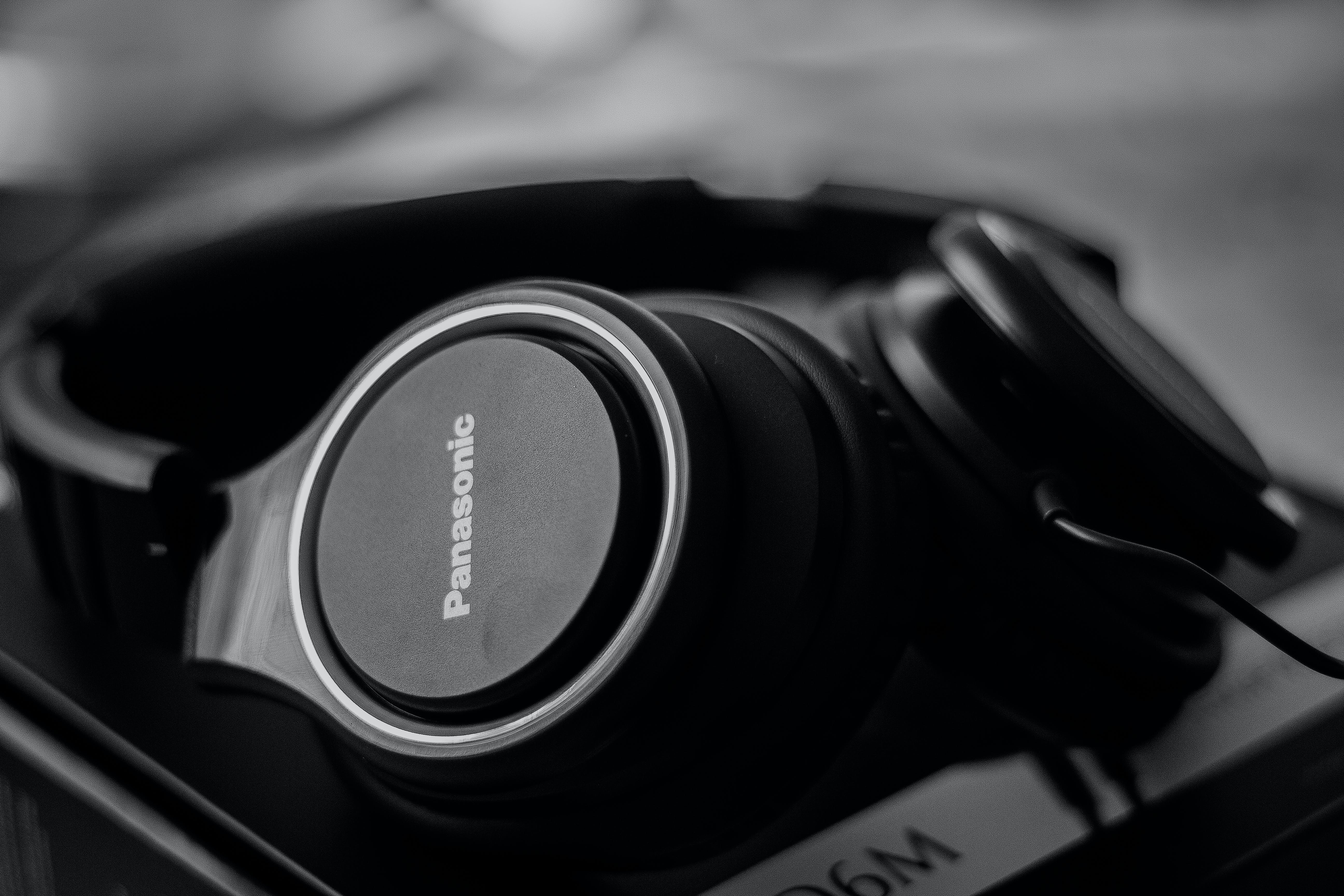 Black Panasonic Headphones