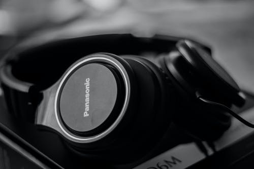 Black Panasonic Headphones