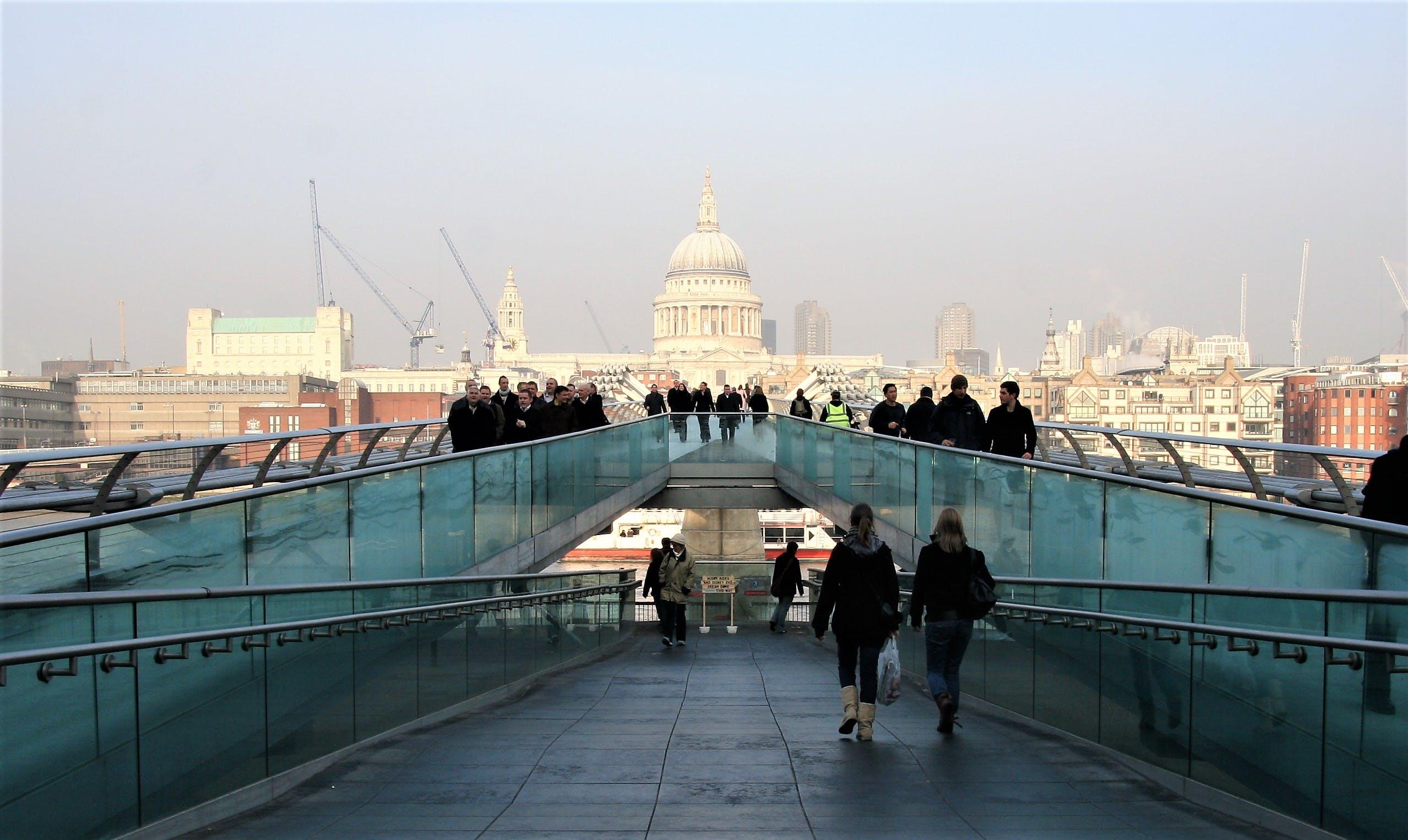 Základová fotografie zdarma na téma cesty, krajina, lidé, Londýn