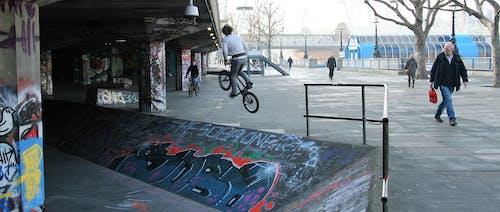 Free stock photo of bmx, city, extreme sport, graffiti
