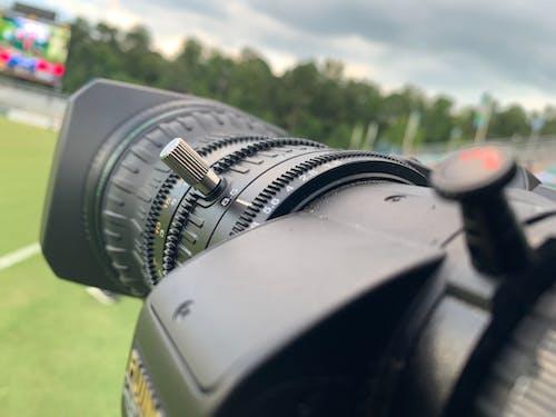 Free stock photo of action camera, lens, video camera