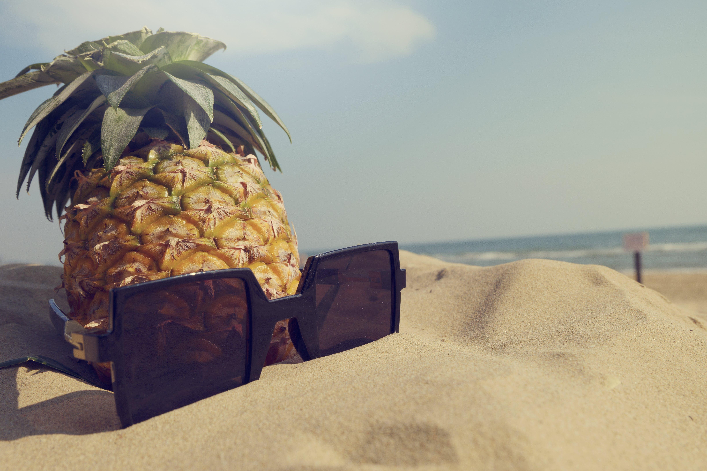 Gratis lagerfoto af ananas, blå, close-up, dag