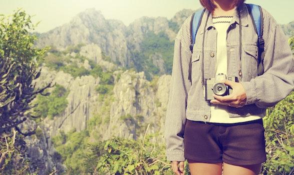 Free stock photo of landscape, mountains, nature, camera