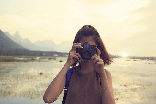 Free stock photo of landscape, mountains, nature, sunset