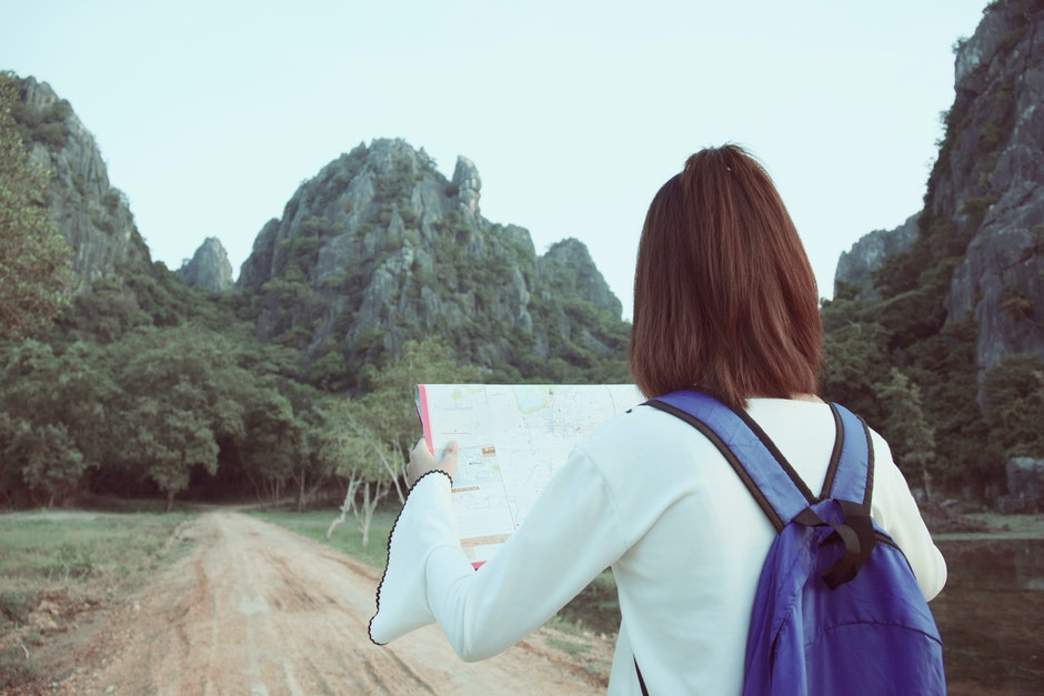 adventure, background, backpack