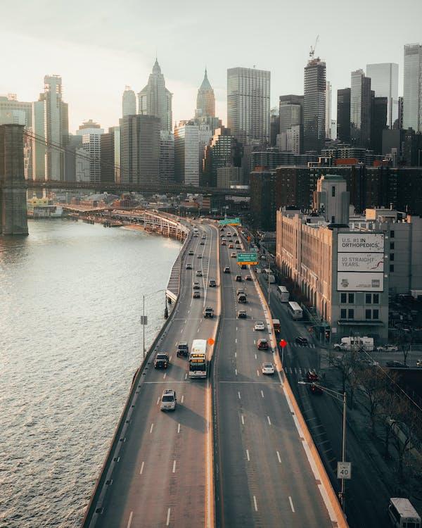 Gratis stockfoto met amerika, antenne, binnenstad