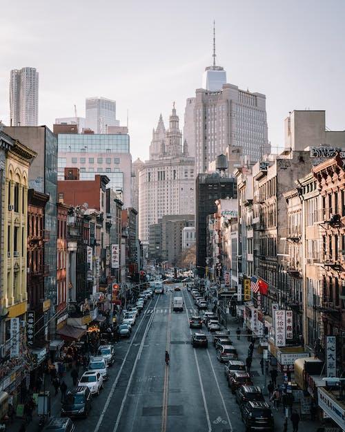 交通系統, 人行道, 城市, 外觀 的 免费素材照片