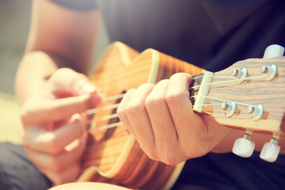 acoustic, adult, close -up
